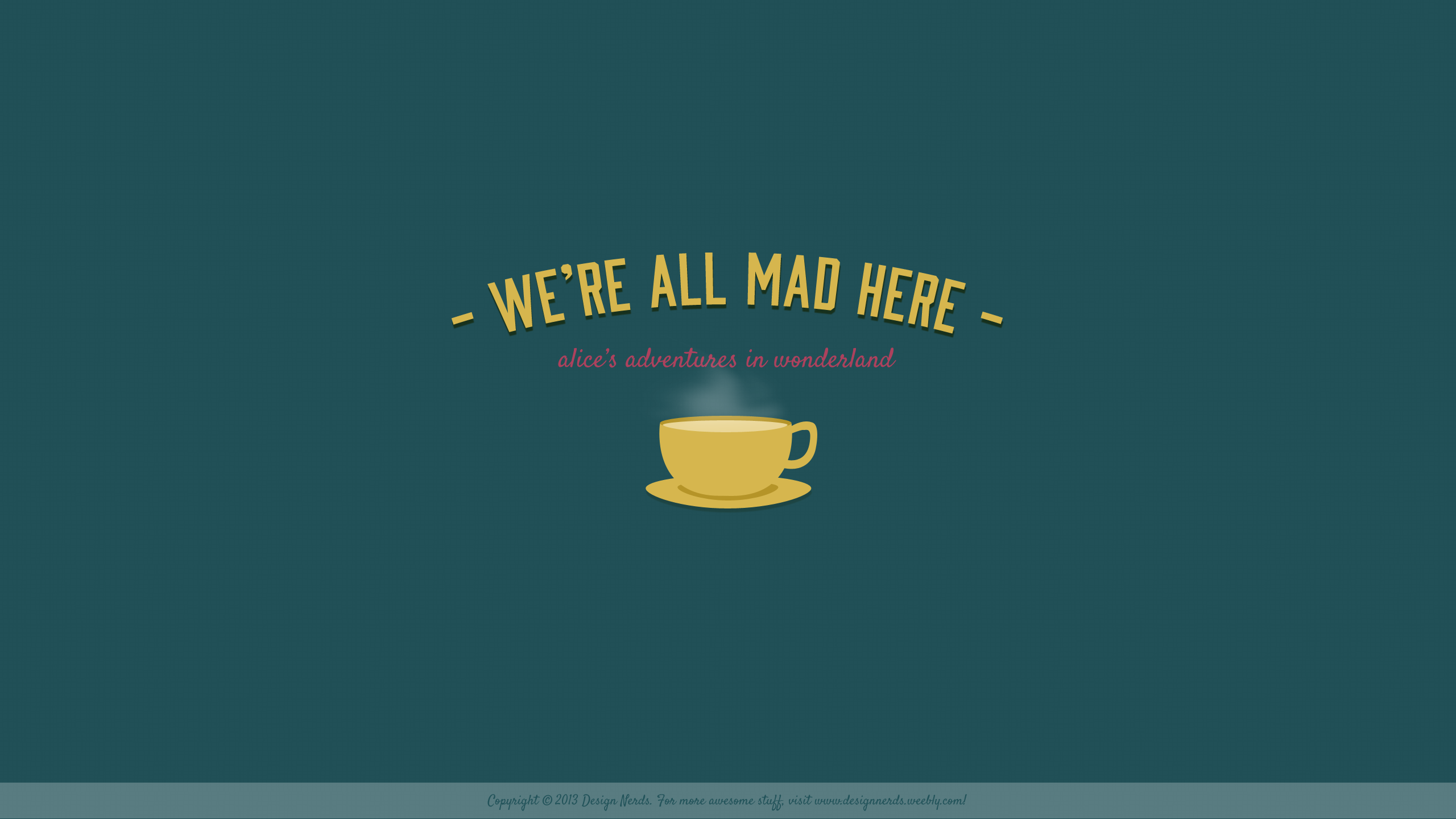 Alice In Wonderland Quote Iphone Wallpaper Download